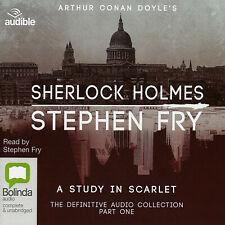 A Study in Scarlet; Sherlock Holmes - Conan Doyle - Stephen Fry - Audio Book
