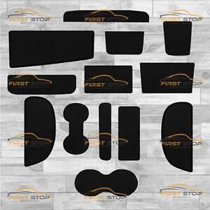 Vw Caddy Door And Dash Pocket Set Fully Tailored Carpet Van Floor Mats 13 Piece