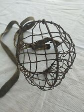 Antique Vintage Wire Dog Muzzle
