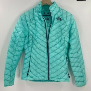 The North Face Women Thermoball Full Zip Jacket Size XS Women Pockets