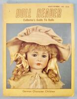 Doll Reader Vintage Collectors Magazine August Sept 1982 German Character (O)
