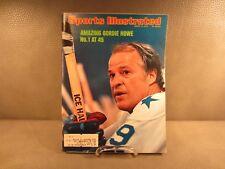 Vintage Sports Illustrated March 11, 1974 Hockey's Gordie Howe Cover
