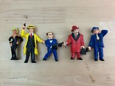 Dick Tracy Disney Applause Vintage Toy Action Figure Lot of 5
