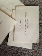 Monopoly Game, Complete Set Of Chance Cards. Genuine Waddingtons Parts.