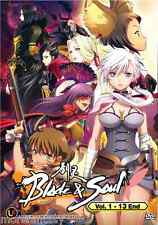 DVD Anime Blade and Soul ( Vol. 1-13 End ) English Subtitle + Free Shipping
