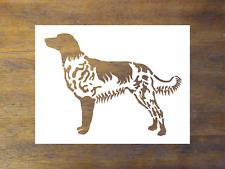 Large Munsterlander Dog Stencil - Reusable Color, Draw, & Paint Custom Stencil