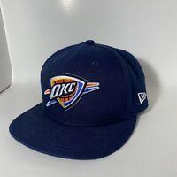 Oklahoma City Thunder OKC New Era 9FIFTY NBA Adjustable Snapback Hat Patches