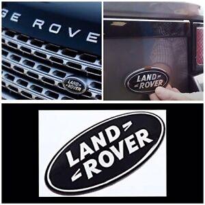 Genuine Land Rover Oval Grille Badge Front Or Rear Emblem