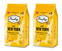 2 x PAULIG CAFE NEW YORK Coffee Beans American Style Roast 450g 16oz