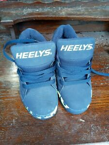HEELYS Boyd  Roller Skate Shoes Trainers Glittery  Blue Size UK2
