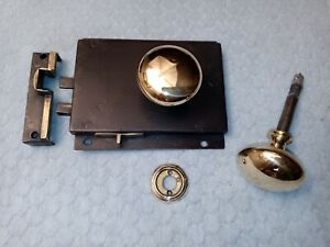 Carpenter Privacy Lock Wrought Iron LH 1820's