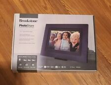 Brookstone 10.1 Inch PhotoShare Touchscreen Smart Frame Brand New