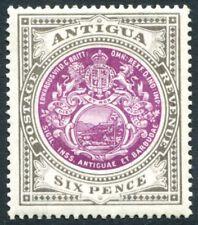 ANTIGUA-1903-07 6d Purple & Drab Sg 36 LIGHTLY MOUNTED MINT V23074