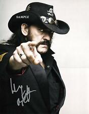 LEMMY KILMISTER #3 REPRINT AUTOGRAPHED 8X10 SIGNED PICTURE PHOTO MOTORHEAD BAND