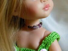 Collier pour poupée Paola Reina, Les Chéries Corolle ou poupée similaire 33 cms