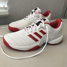 hot sale online 62148 187e2 adidas Barricade Boost Womens Size 10 2018 Tennis Shoes Cloud White    Scarlet