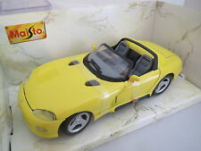 Maisto Dodge Viper RT-10 (1995) Special Edition (gelb)  1:24  TOP +OVP