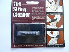 More details for the original tonegear string cleaner - ultimate guitar string cleaning tool