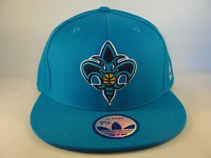 New Orleans Hornets NBA Adidas Fitted Hat Cap Size 7 5/8 Teal