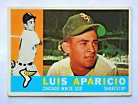 Luis Aparicio #240 Topps 1960 Baseball Card (Chicago White Sox) VG