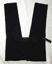 NWT Women's Theory Black Fine Wale Skinny Lightweight Corduroy Pants-Size 00