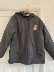 MCFC Black Coat Size Large Manchester City
