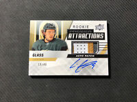 2019-20 UPPER DECK PREMIER CODY GLASS ROOKIE ATTRACTIONS AUTO PATCH #ed 19/49