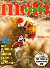 MOTO VERTE  46 BULTACO 350 Alpina BPS 240 RS KTM GS SWM BPS 320 TL KAWASAKI KX