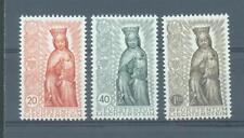 Liechtenstein 1954 Madonna   sg.327-9   lightly MH set of 3
