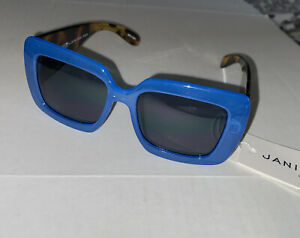 Janie and Jack Blue Leopard print sunglasses 4 years and up NWT