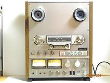 Tonbandgerät SONY TC 765  Reel To Reel Tape Recorder + 2 x NAB Adapter Kelch