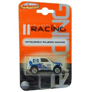Mitsubishi Pajero Dakar HP White V60 WRC Majorette Racing 1:58 1:64 292A  RARE