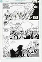 Green Lantern: Mosaic #3 p9 (1992) Hamner/ Panosian John in flight