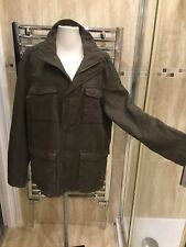 Mens Maine Edenbrook Jacket, Size Medium, Khaki, ** VGC **