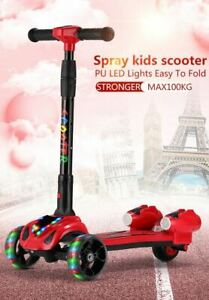 Best Gift.UK's Best Selling Kids Children Spray Music Scooter Rocket Jet Scooter