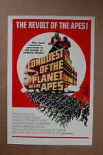 Conquest of the Planet of the Apes #1 Lobby Card Movie Poster