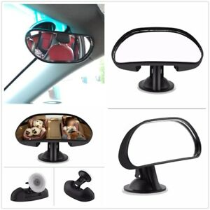 1X Adjustable Car Baby Child Back Seat Rear View Safety Mirror With Suction Cup