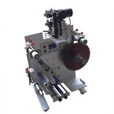VFN Semi-Automatic Round Bottle Labeling Coding Machine Labeler Printer 220V New