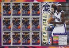 Chris Webber (Sacramento Reyez REPRODUCTOR de baloncesto NBA) Hoja de sellos de menta (2005)