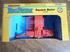 BNIB ERTL FARM COUNTRY BIG FARM SQUARE BALER 1/32 SCALE 1994 PLASTIC FARM MODEL