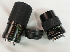 Fuji adapted 70-210 135mm f/2.8 lens for FX Fuji X X-T3 X-Pro2 X-A2 cameras