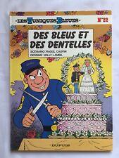 LES TUNIQUES BLEUES DES BLEUS ET DENTELLES 22  EO BD 1985 / LAMBIL CAUVIN