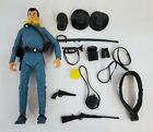 OH218 VINTAGE 1960'S MARX THE BEST OF THE WEST ZEB ZACHARY FIGURE W/ ACCESSORIES