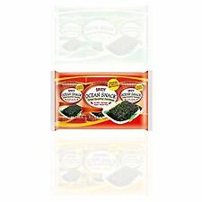 new food OCEAN SNACK  Spicy Roasted Seaweed 3pack x 2