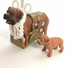 Yujin Dog Gashapon Mini figure Tosa Inu Japanese Fighting Dog Red import Japan