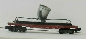 AMERICAN FLYER 934 SP Knuckle SOUTHERN PACIFIC FLOODLIGHT Freight FLAT CAR C-5