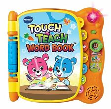 Touch and Teach Word Book VTech Kids Toys Learning Baby Toddlers ABC Gift New