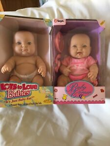 Berenguer 2 Dolls 35cm Pleasantly Plump & Baby Corner Collection Both New In Box