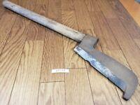 Japanese vintage Carpentry Tool NATA AXE ONO Hatchet Woodworking 600mm KF014