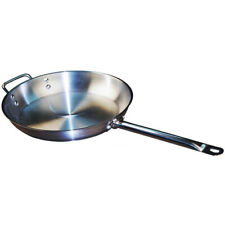 """Winco Stainless Steel Fry Pan Size: 8-1/2"""""""